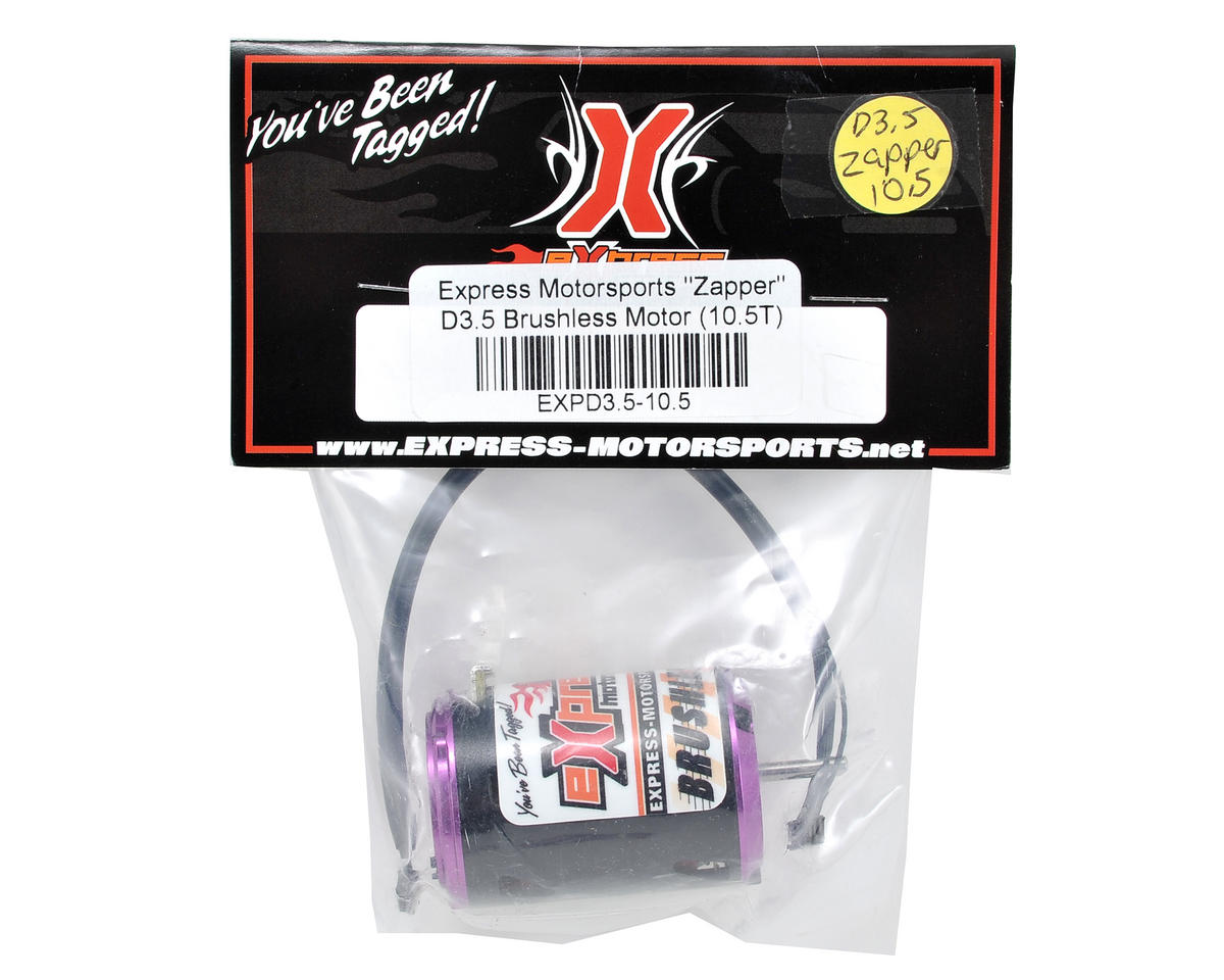 "Express Motorsports ""Zapper"" D3.5 Brushless Motor (10.5T)"