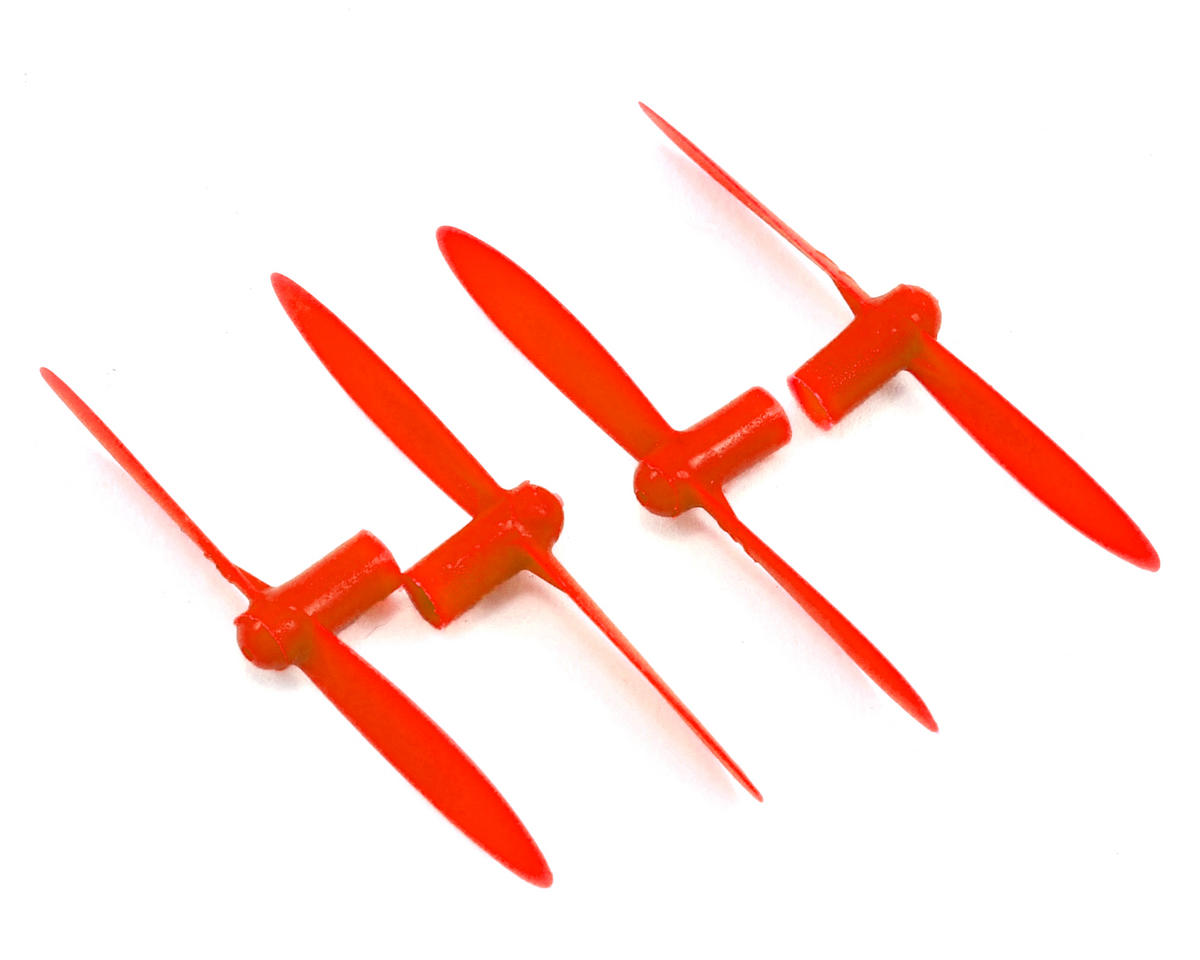 "EZ Fly RC Nano Flipside ""A & B"" Blades (Red) (4)"