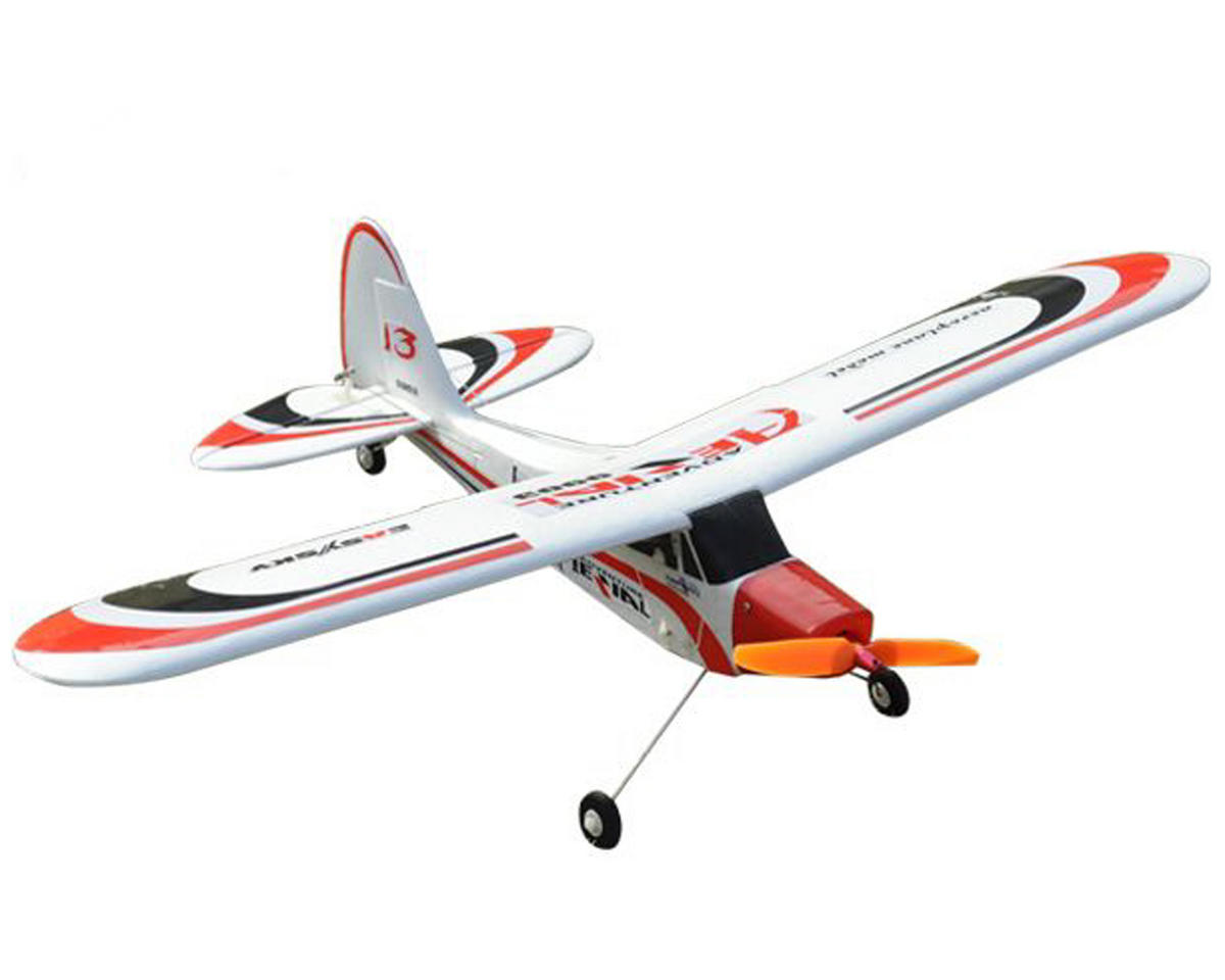 EasySky Enterprise Piper J3 Cub 610mm RTF Micro Airplane (Red/Black/White)