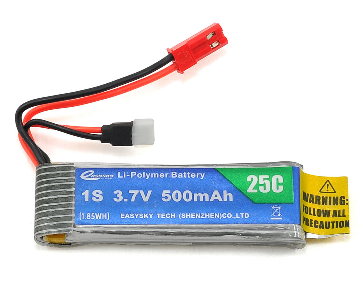 EasySky Enterprise 1S LiPo 25C Battery (3.7V/500mAh)