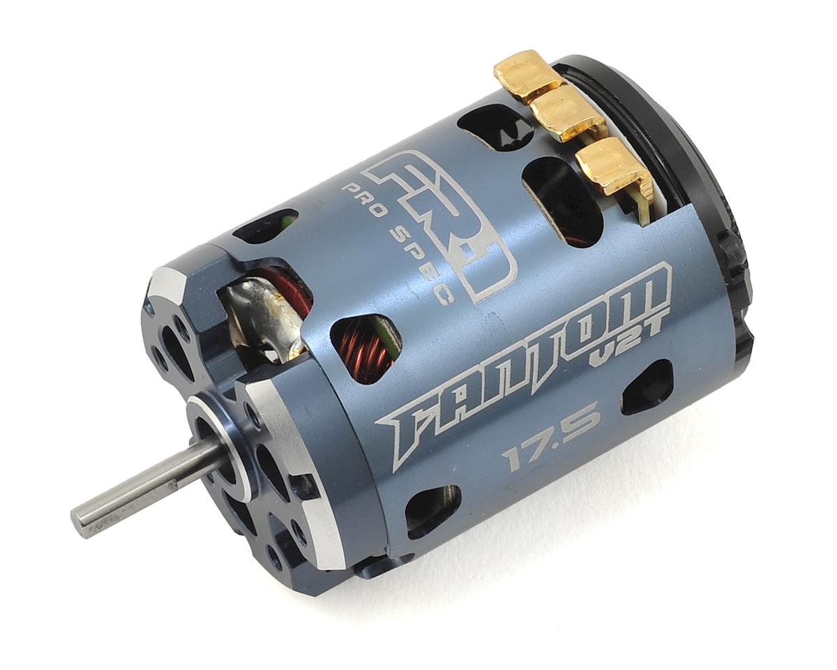 Fantom Racing FR-1 V2T Spec Brushless Motor (17.5T)