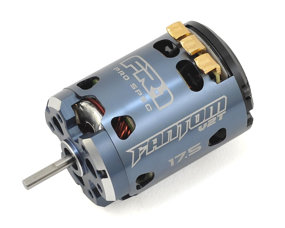 Fantom Racing FR-1 V2T Team Works Spec Brushless Motor (17.5T)