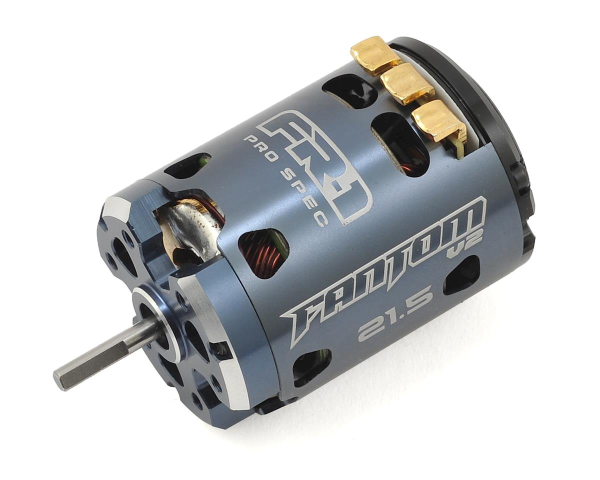 Fantom Racing FR-1 V2 Team Works Spec Brushless Motor (21.5T)