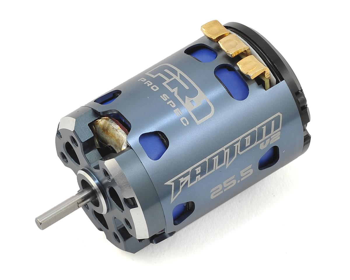 Fantom Racing FR-1 V2 Spec Brushless Motor (25.5T)