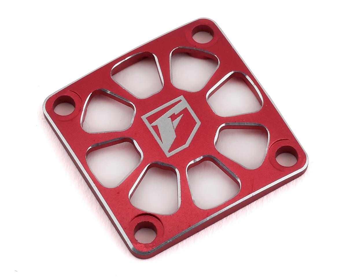 Fantom 25x25mm Aluminum FR-10 Pro ESC Fan Cover (Red)