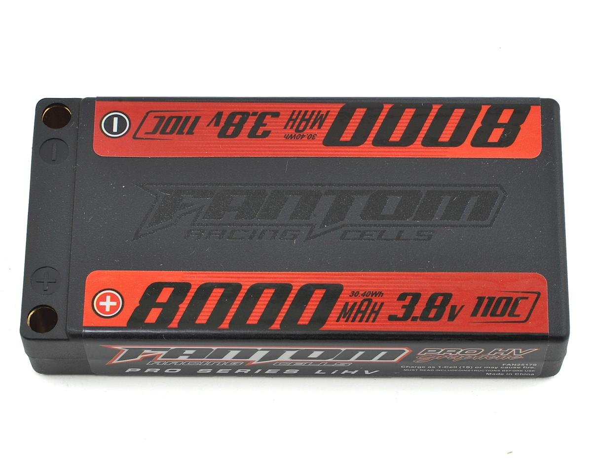 Pro Series HV 1S LiPo 110C Battery (3.8V/8000mAh)
