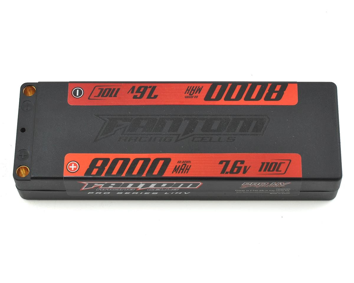 Pro Series HV 2S LiPo 110-160C Battery (7.6V/8000mAh) by Fantom