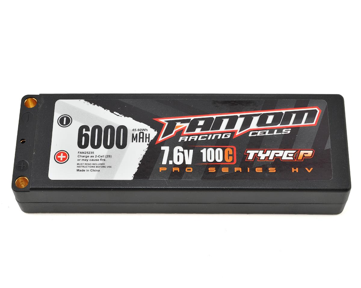 Fantom Pro Series HV 2S LiPo 100C Battery (7.6V/6000mAh)