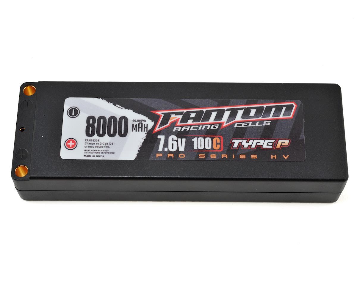 Fantom Pro Series HV 2S LiPo 100C Battery (7.6V/8000mAh)