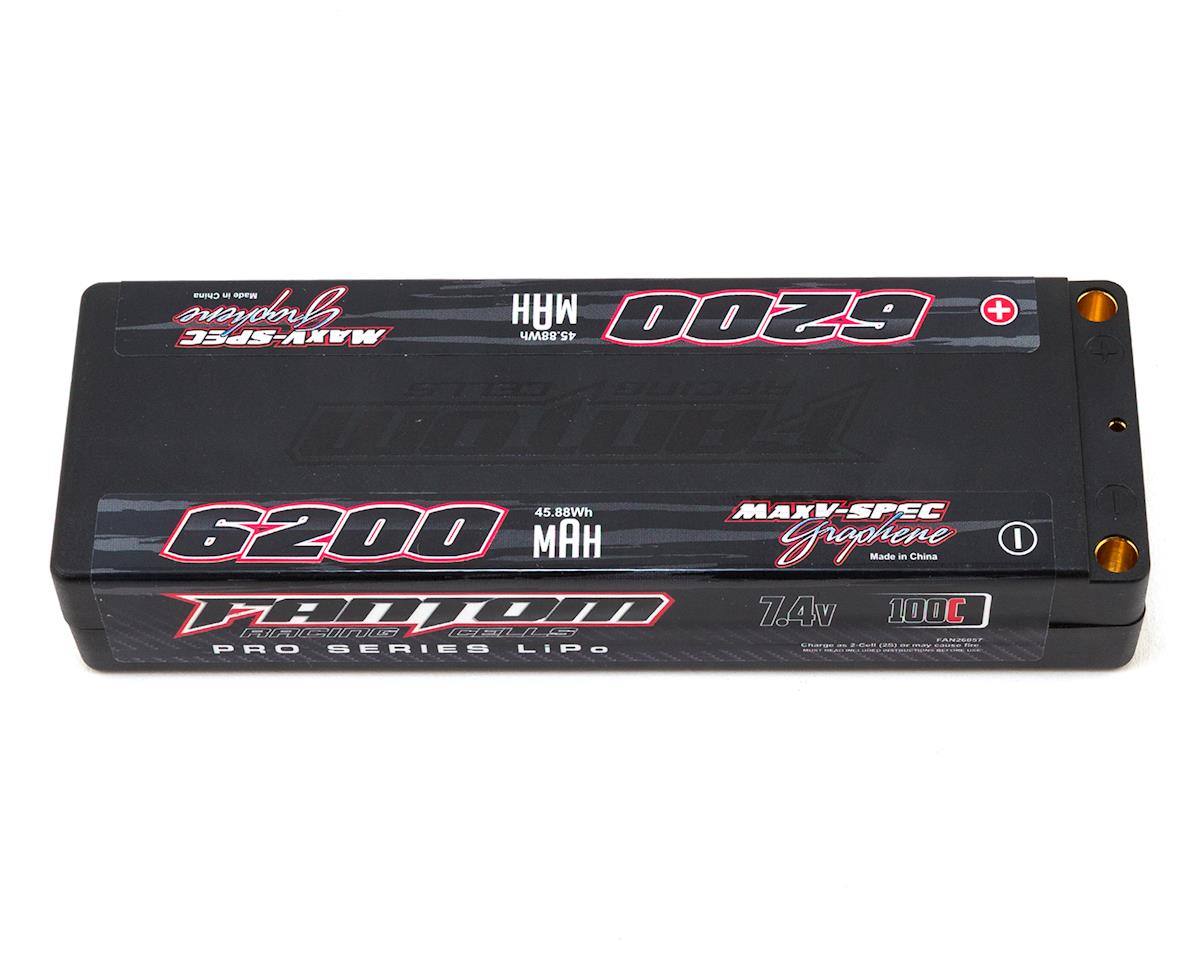 Fantom Pro Series MaxV-SPEC 2S LiPo 100C Battery (7.4V/6200mAh)