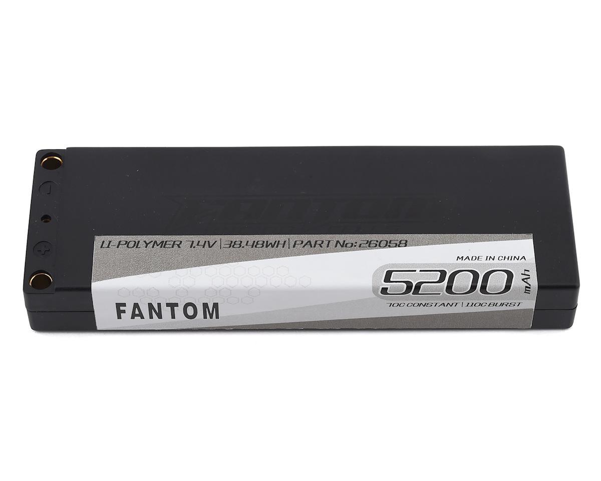 Fantom Pro Series Low Profile TC 2S LiPo 100C Battery (7.4V/5000mAh)
