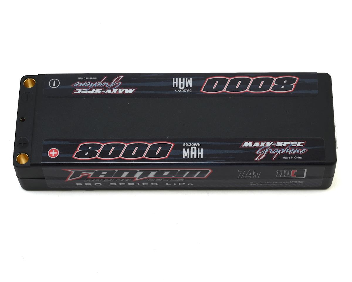 Pro Series MaxV-SPEC Silicon Graphene 2S LiPo 110C Battery (7.4V/8000mAh) by Fantom