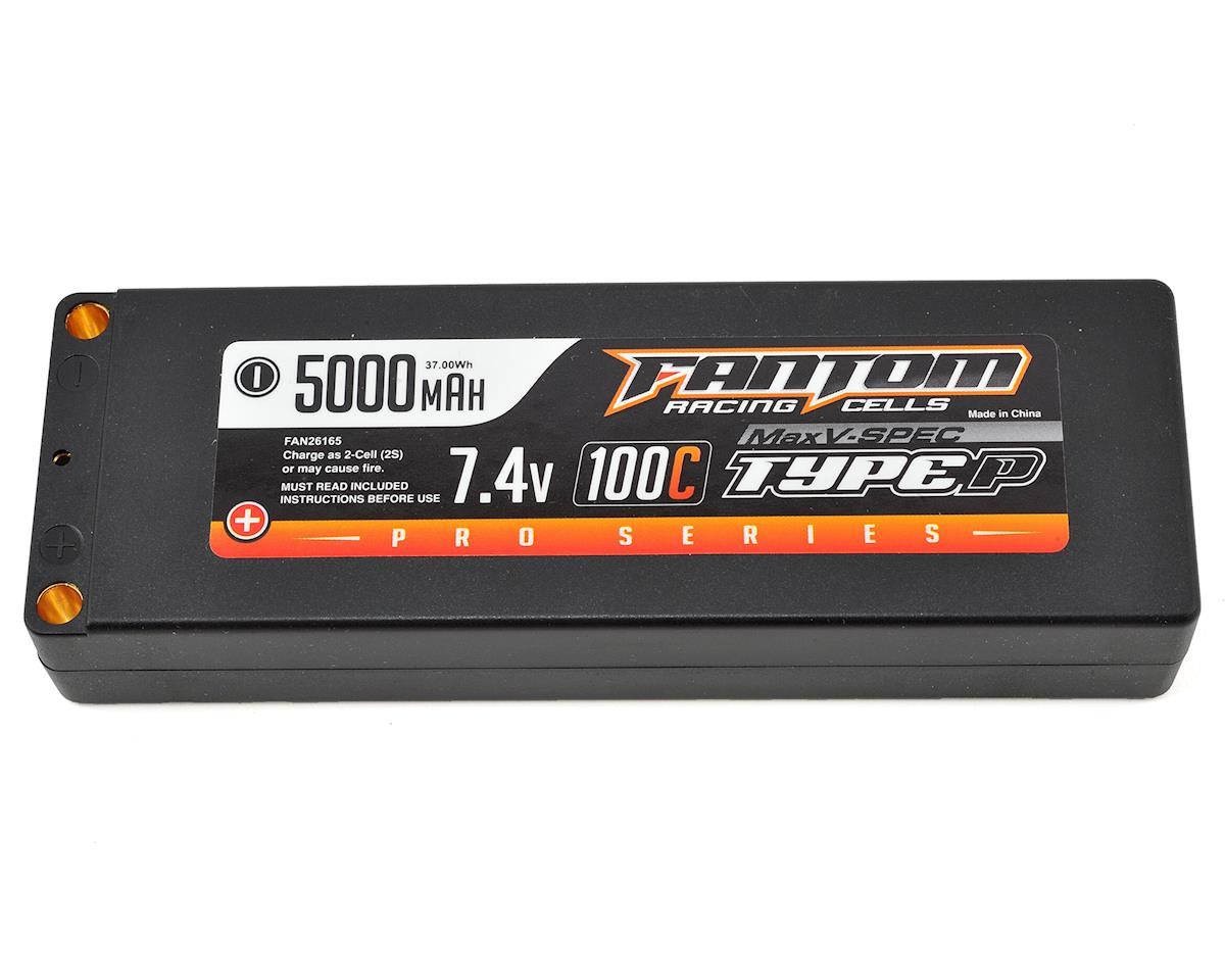 Fantom Racing Pro Series MaxV-SPEC 2S LiPo 100C Battery (7.4V/5000mAh)