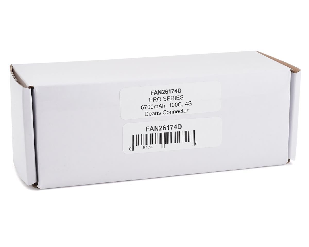 Fantom Pro Series 4S 100C LiPo Battery w/T-Style Plug (14.8V/6700mAh)