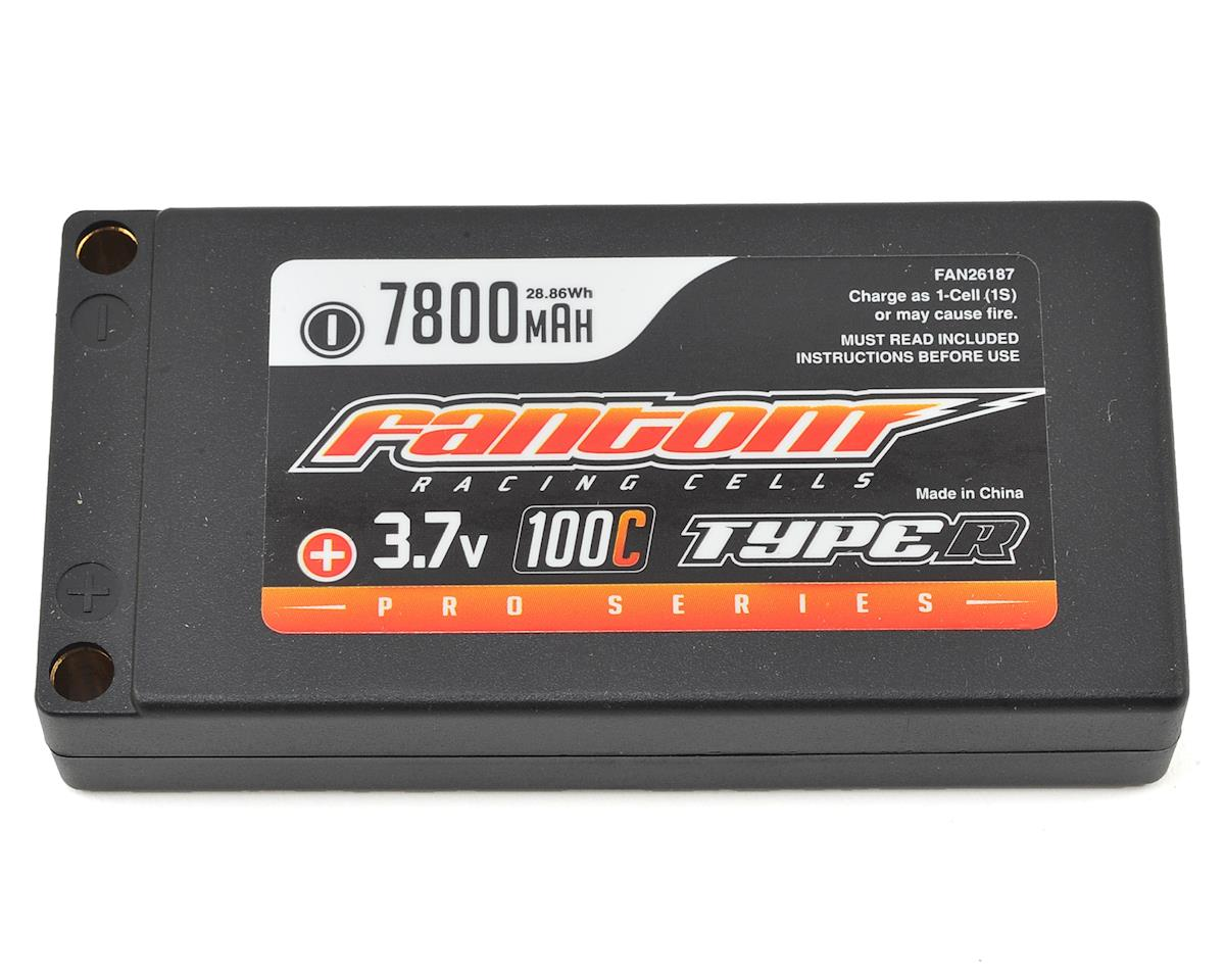Fantom Racing Pro Series 1S LiPo 100C Battery (3.7V/7800mAh)