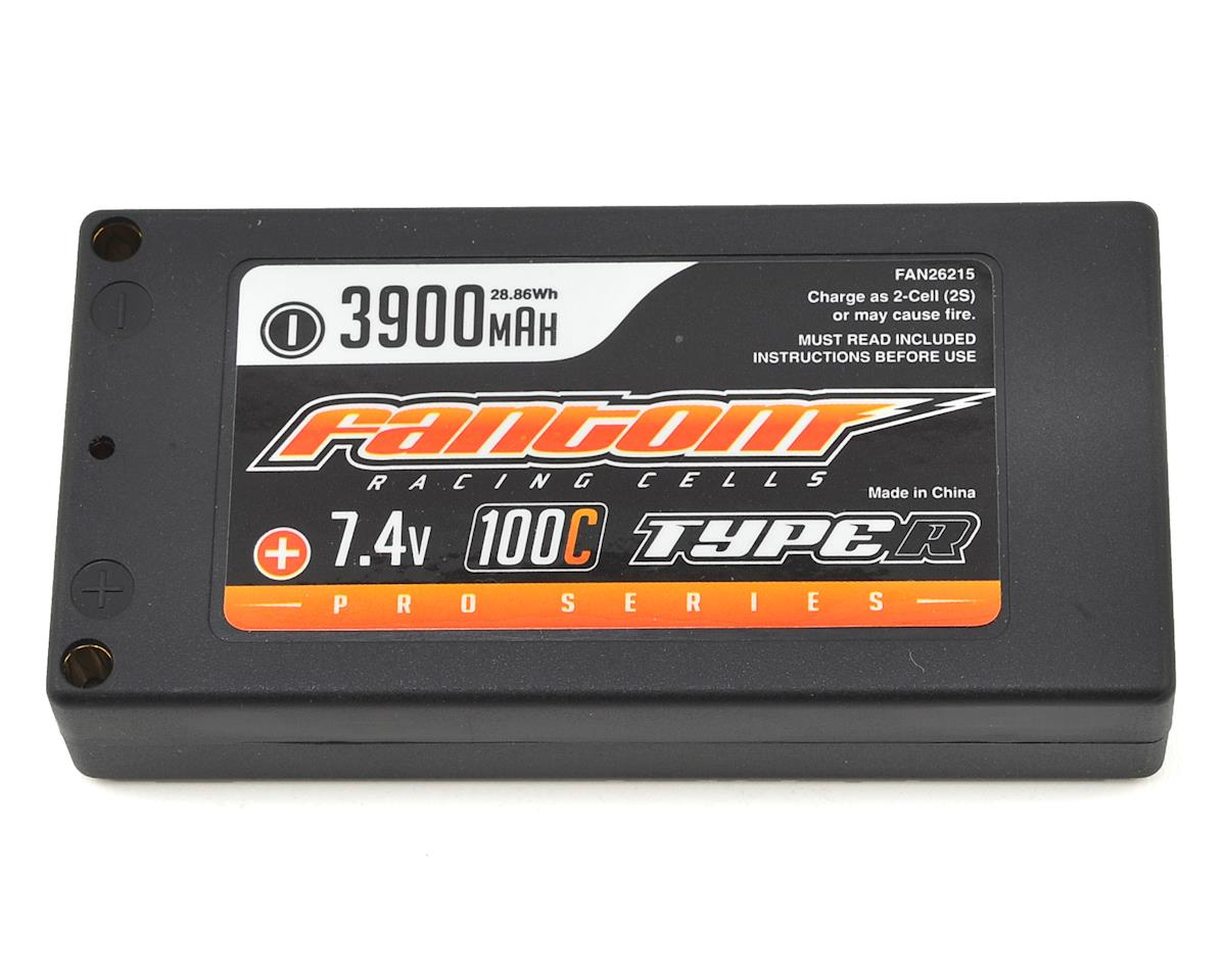 Fantom Racing Pro Series Type-R Thin Shorty 2S LiPo 100C Battery (7.4V/3900mAh)