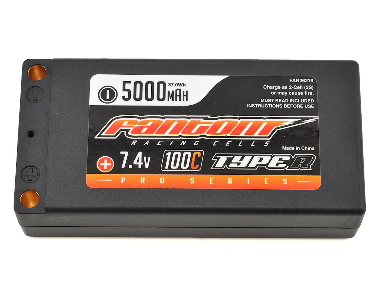 Fantom Racing Pro Series Shorty 2S LiPo 100C Battery (7.4V/5000mAh)