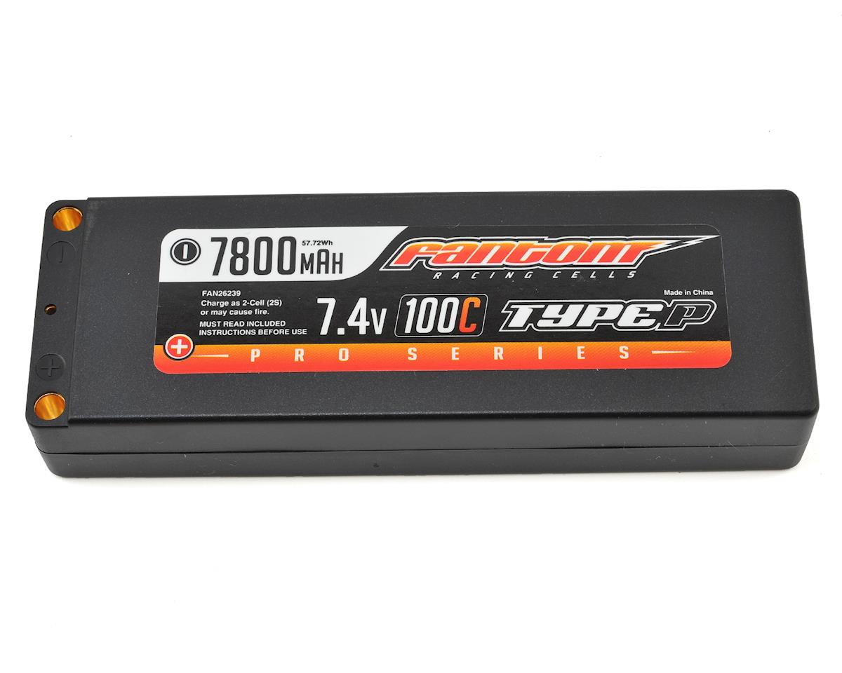 Fantom Racing Pro Series Shorty 2S LiPo 100C Battery (7.4V/7800mAh)