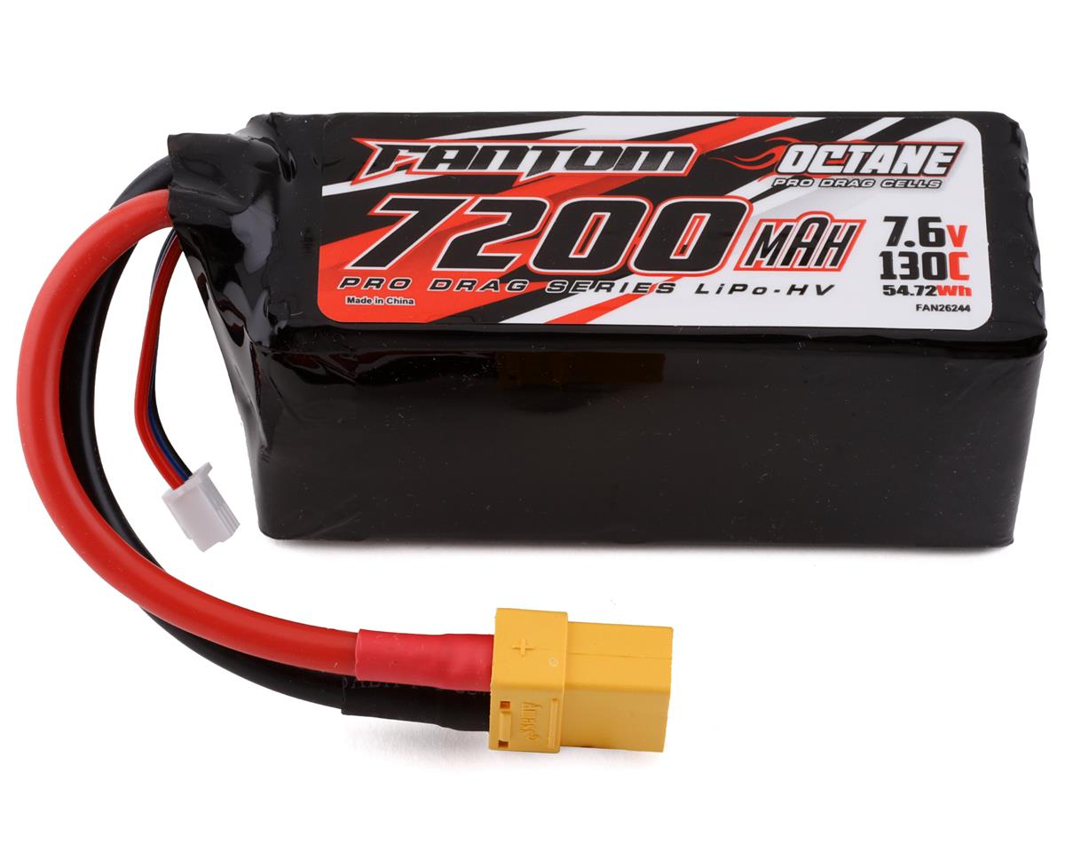 Fantom Pro Series Low Profile 4S LiPo 100C Hard Case Battery (14.8V/5200mAh)