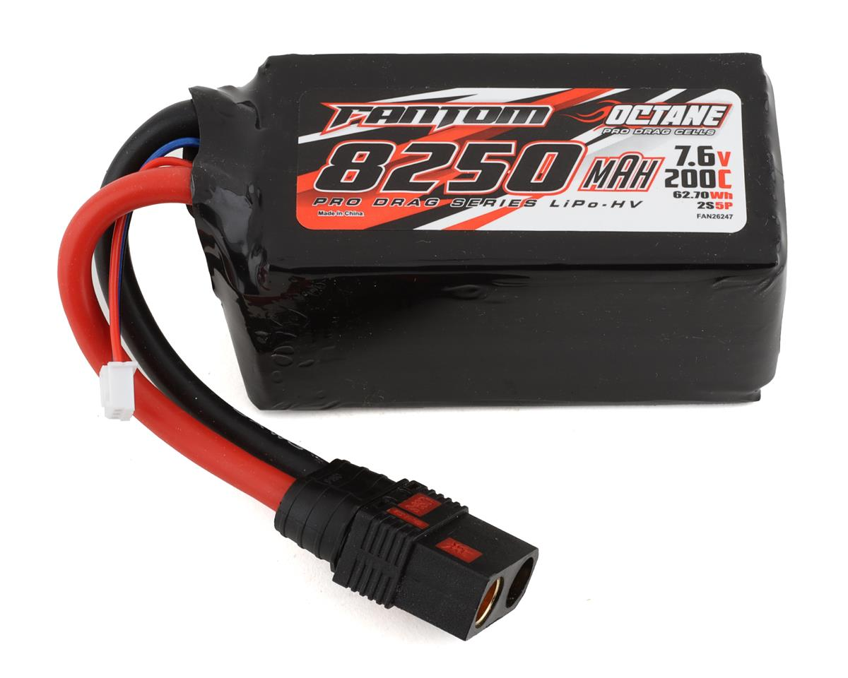Fantom Racing Pro Series Saddle 2S LiPo 80C Battery (7.4V/6000mAh)