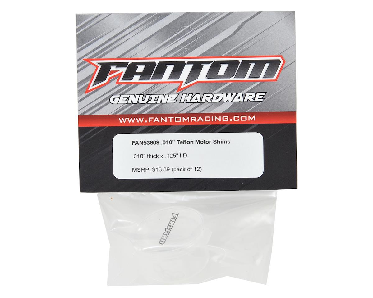 Fantom .010 Teflon Motor Spacers (12)
