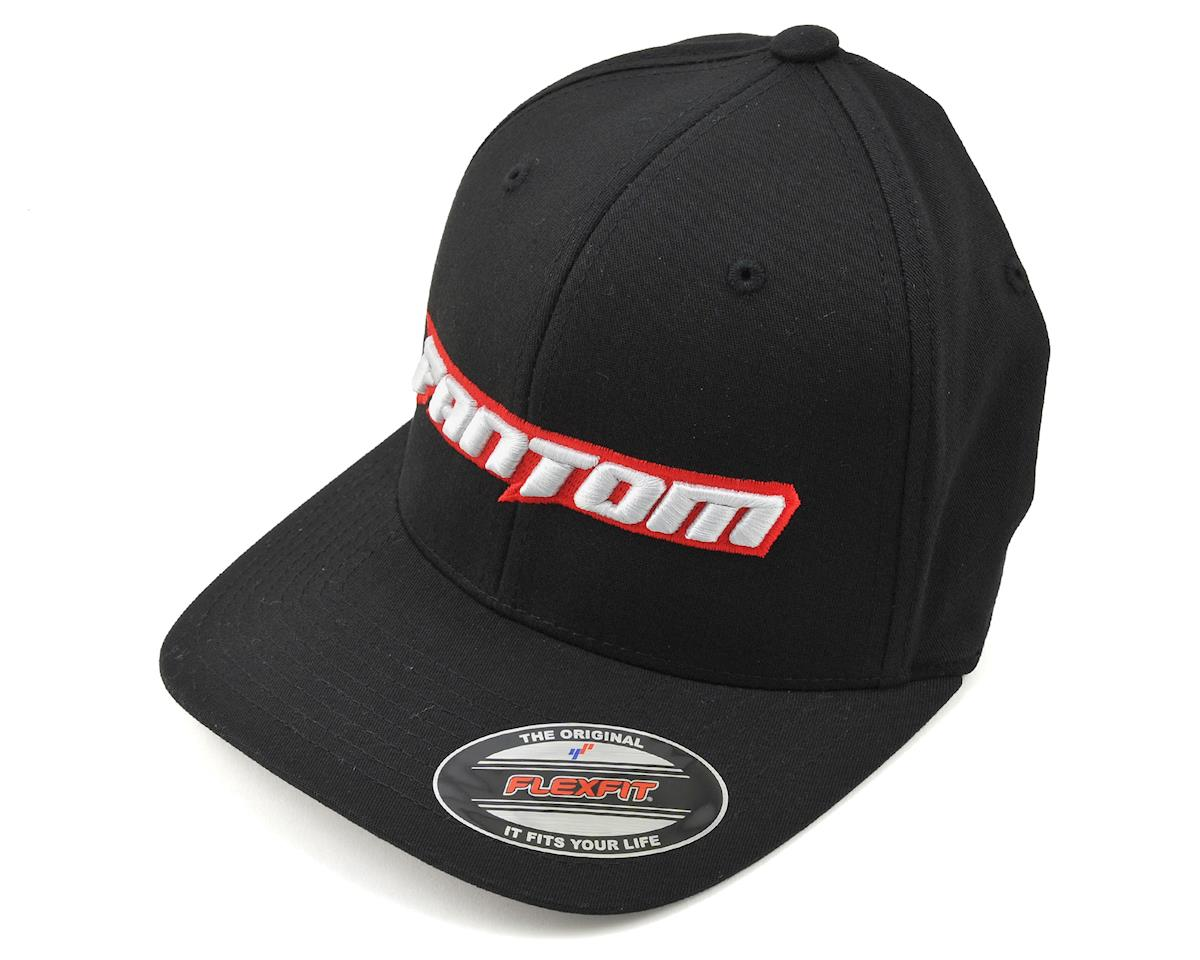 Fantom FlexFit Hat (Black) (L/XL)