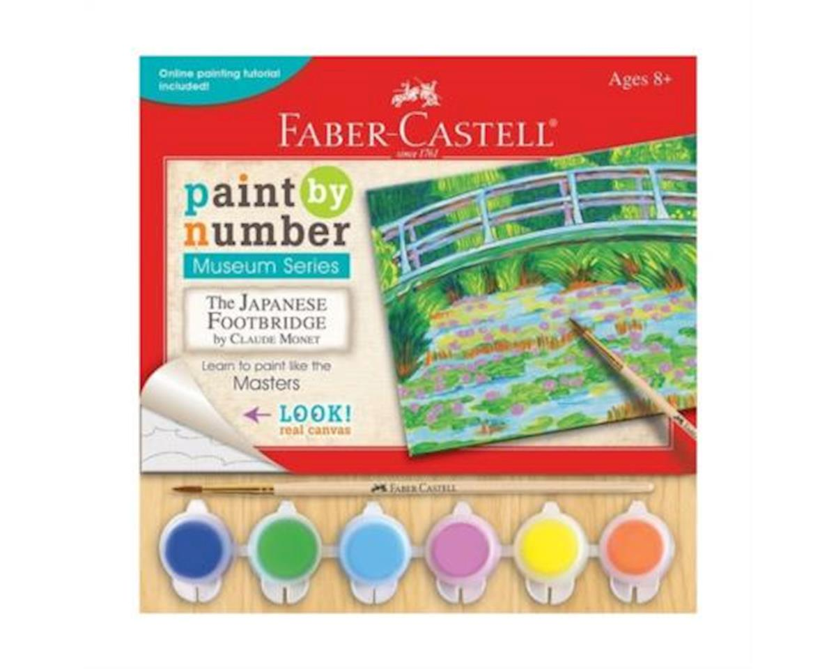 Faber-Castell Paint By Number Museum Series Claude Monet The Japanese Footbridge