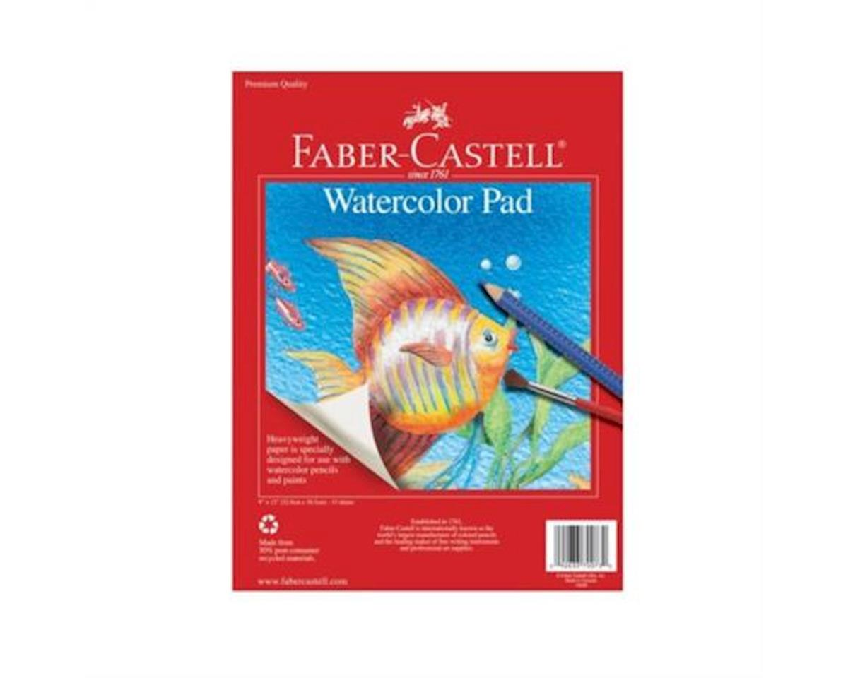 "Faber-Castell Watercolor Pad 9"" x 12"""