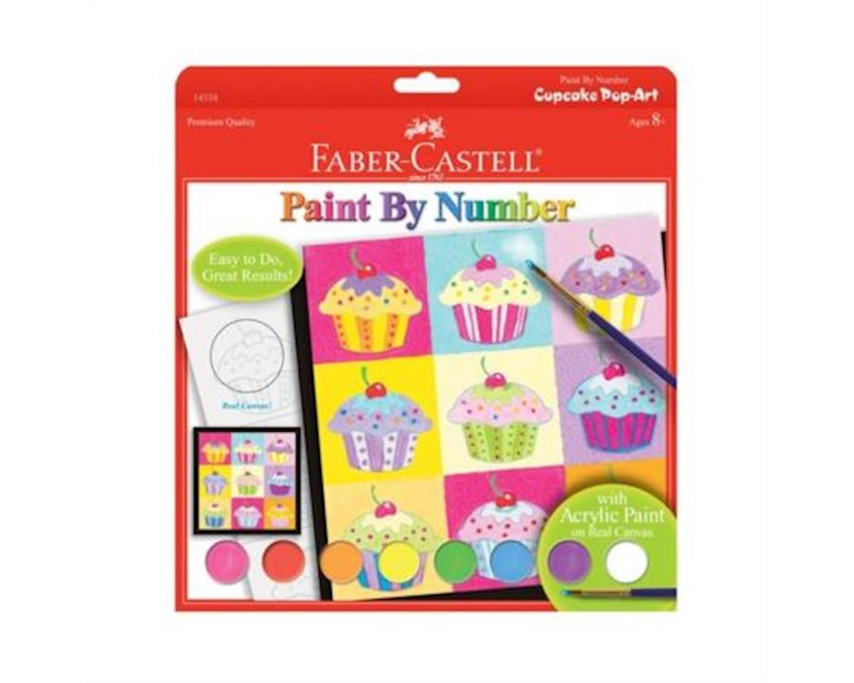 Faber-Castell Paint By Number Cupcake Pop-Art