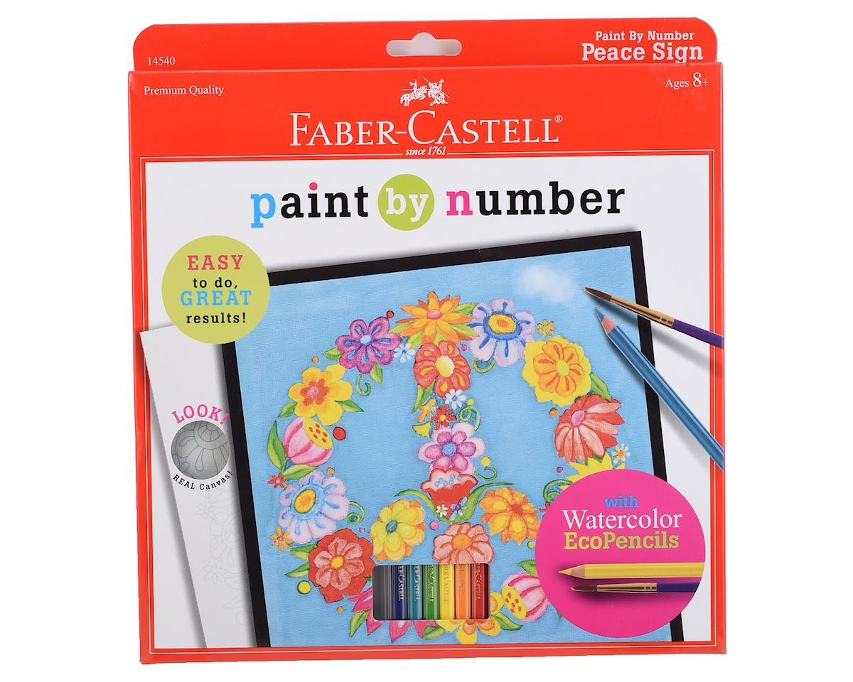 Faber-Castell Paint By Number Peace Sign