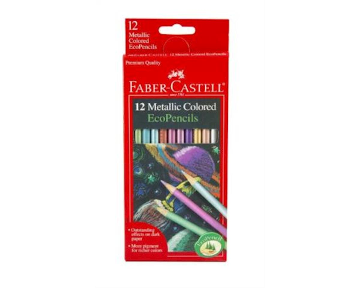 Faber-Castell 12Ct Metallic Colored Ecopencils