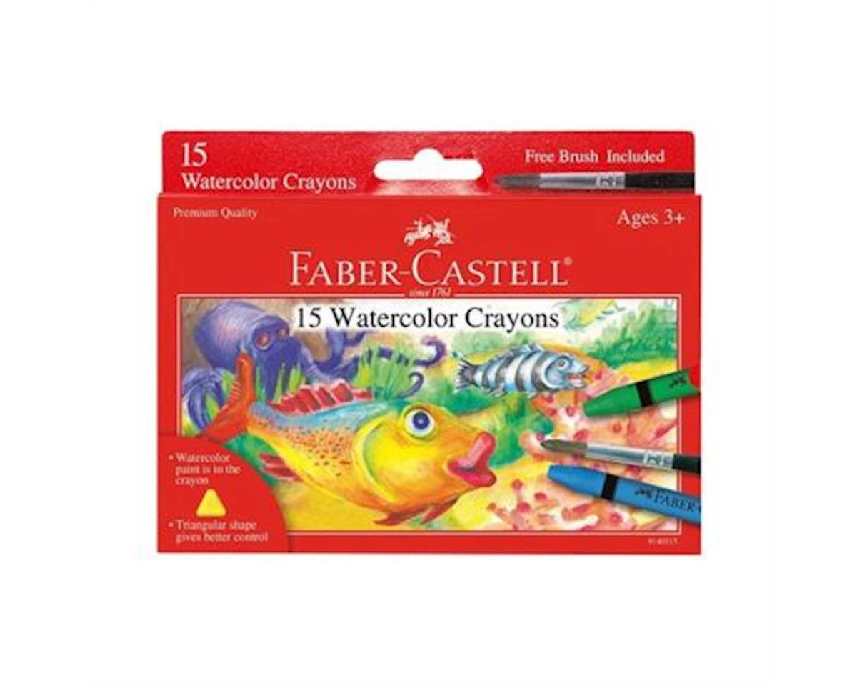 Faber-Castell 15Ct Watercolor Crayons