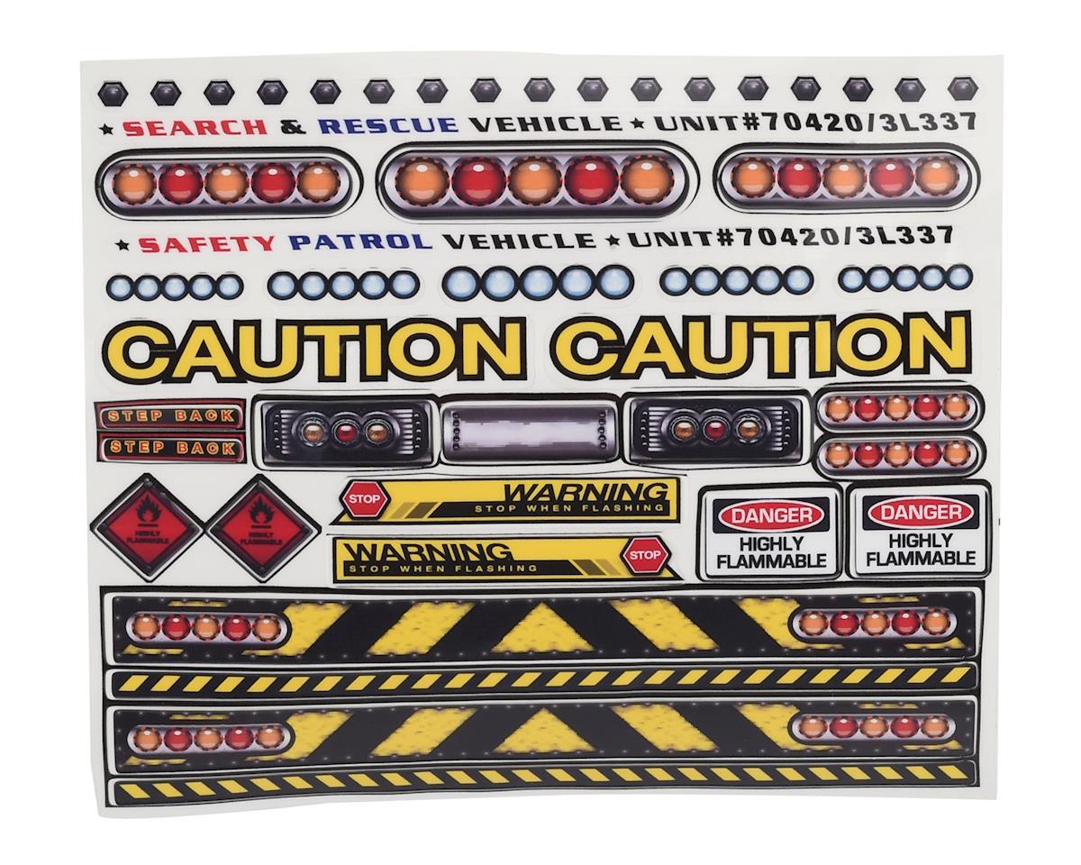 Firebrand RC The Hazard Kit Caution Lights w/Decals