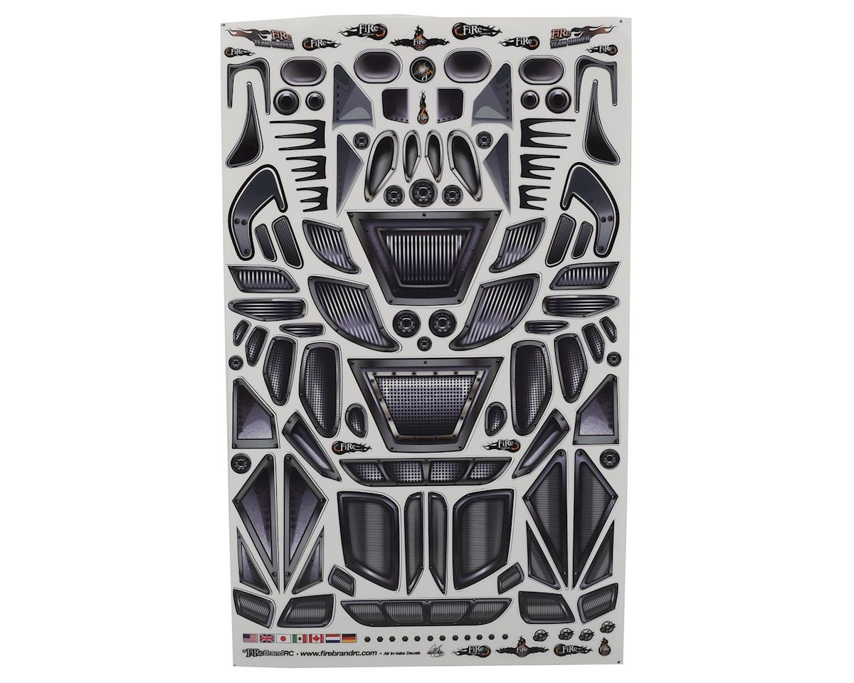 "Firebrand RC Air Intakes & Vents Multi-Fit Decal Sheet (8.5x14"")"