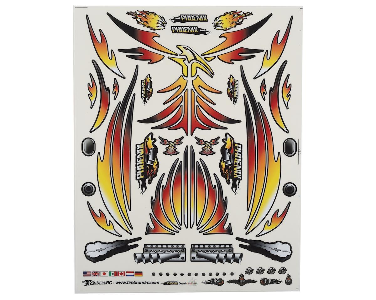 "Firebrand RC Concept Phoenix Decal (Orange) (8.5x11"")"