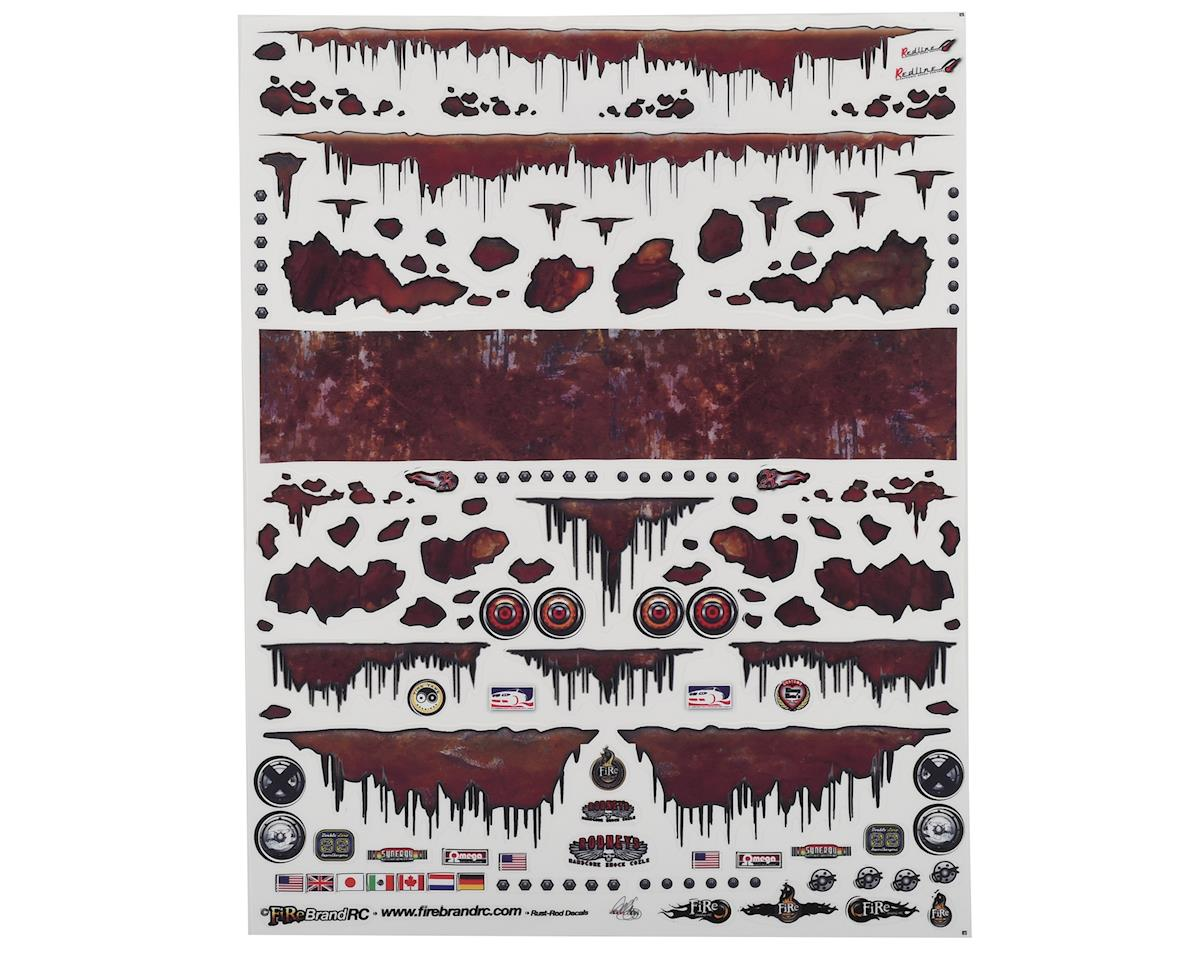 "Firebrand RC Rust Rod Decal Sheet (8.5""X11"")"