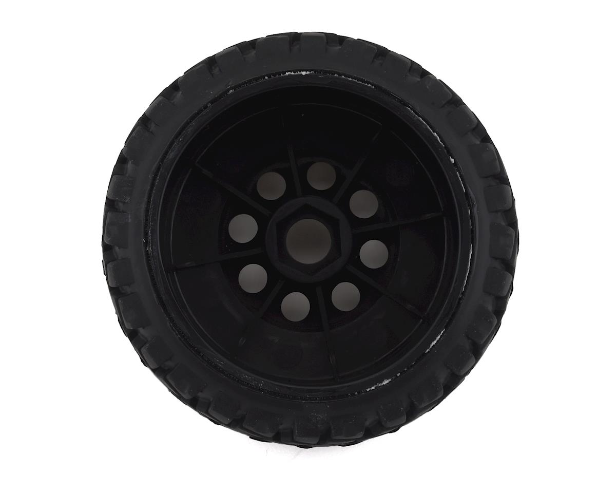 Image 2 for Firebrand RC Rhino HDX 1/8 Pre-Mounted Truck Tires (4) (Black)