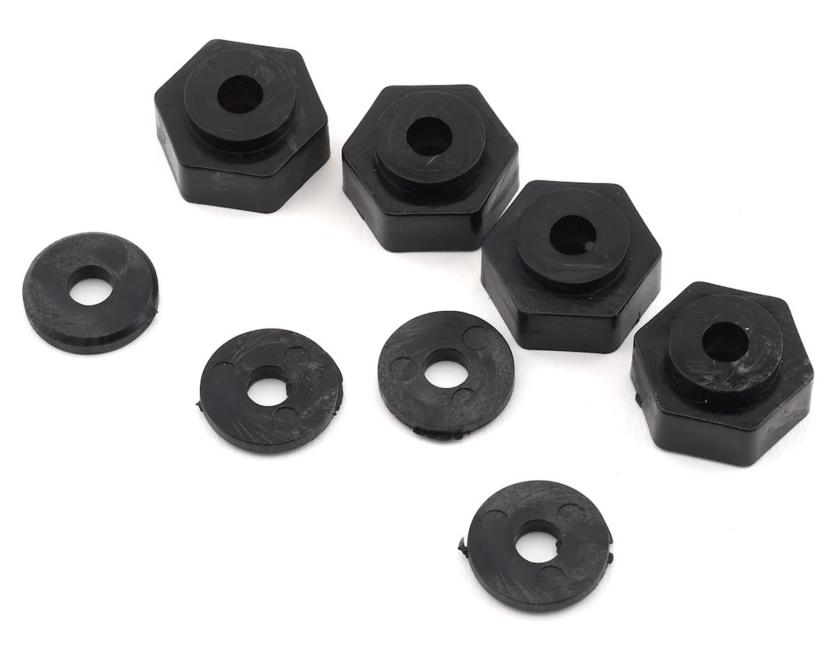 Image 3 for Firebrand RC Rhino HDX 1/8 Pre-Mounted Truck Tires (4) (Black)