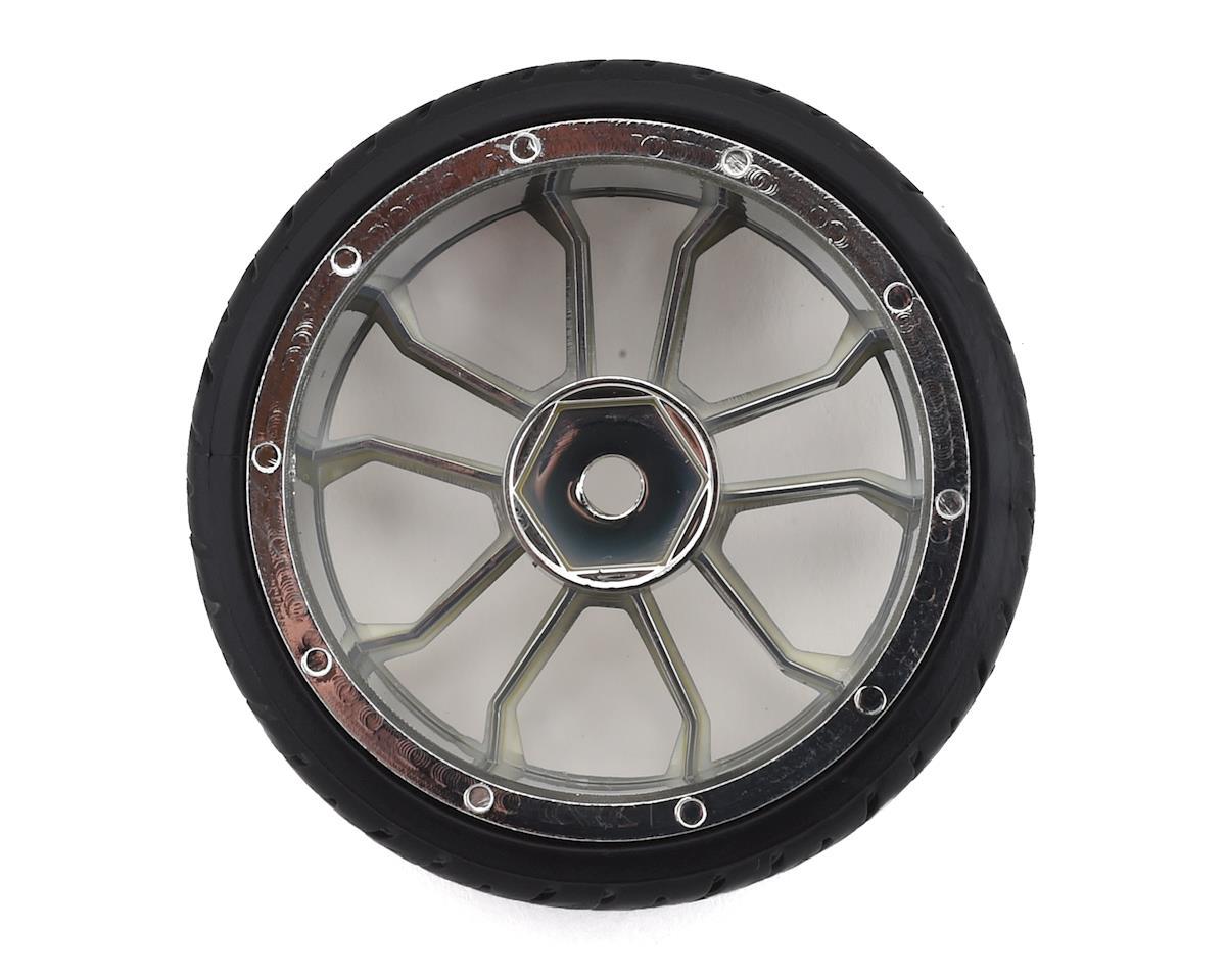 Firebrand RC Supernova DT3 Pre-Mounted Drift Tires (4) (Chrome)