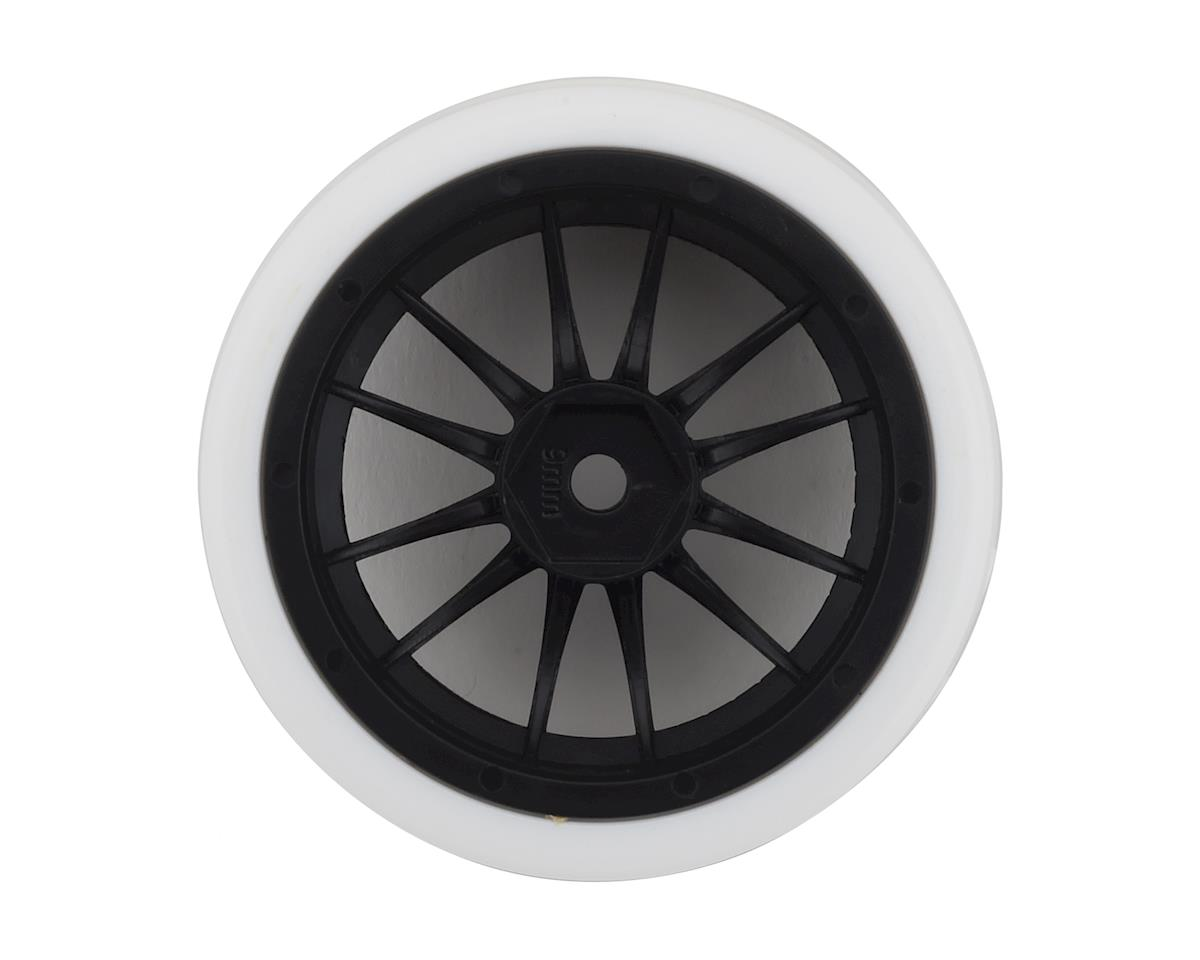 Firebrand RC Char XDR9 5° Pre-Mounted Slick Drift Tires (4) (Black/White)