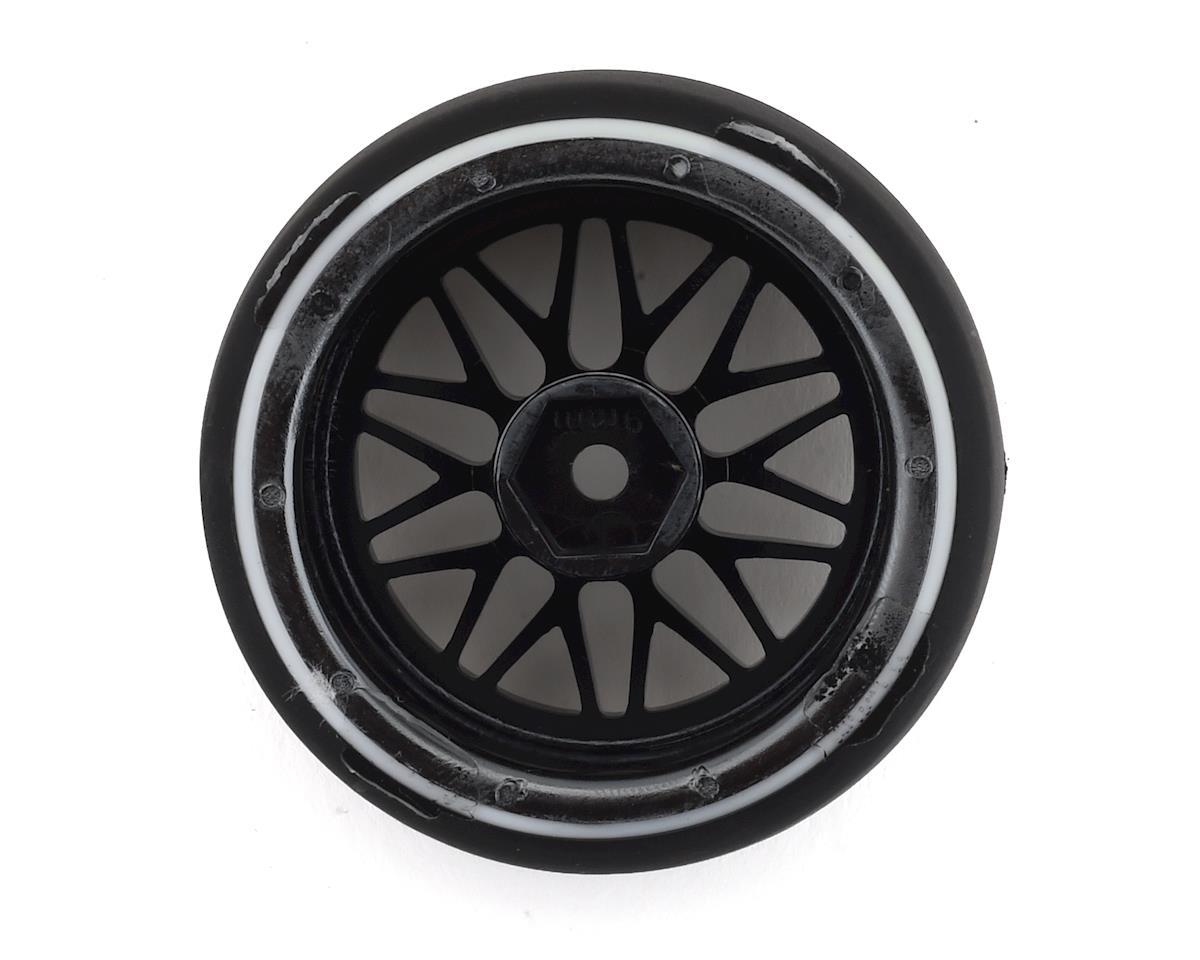 Firebrand RC Darkmatter D29 Pre-Mounted 2-Piece Drift Tires (4) (Smoke Chrome)