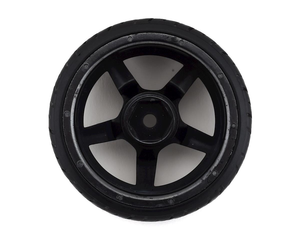 Firebrand RC Hammer DT3 Pre-Mounted Drift Tires (4) (Smoke Chrome)
