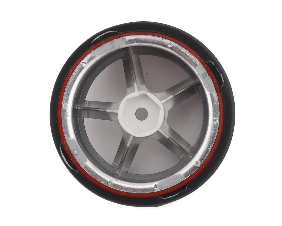 Firebrand RC Highfive D29 Pre-Mounted Slick Drift Tires (4) (Smoke Chrome)