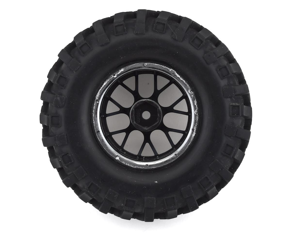 "Firebrand RC Hypernova XCT9 Pre-Mounted 2.0"" Crawler Tires (4) (Smoke Chrome)"
