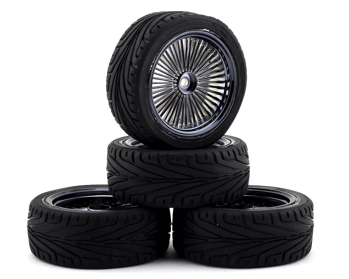 Firebrand RC OG RT3 Pre-Mounted On-Road Tires (4) (Smoke Chrome) | relatedproducts