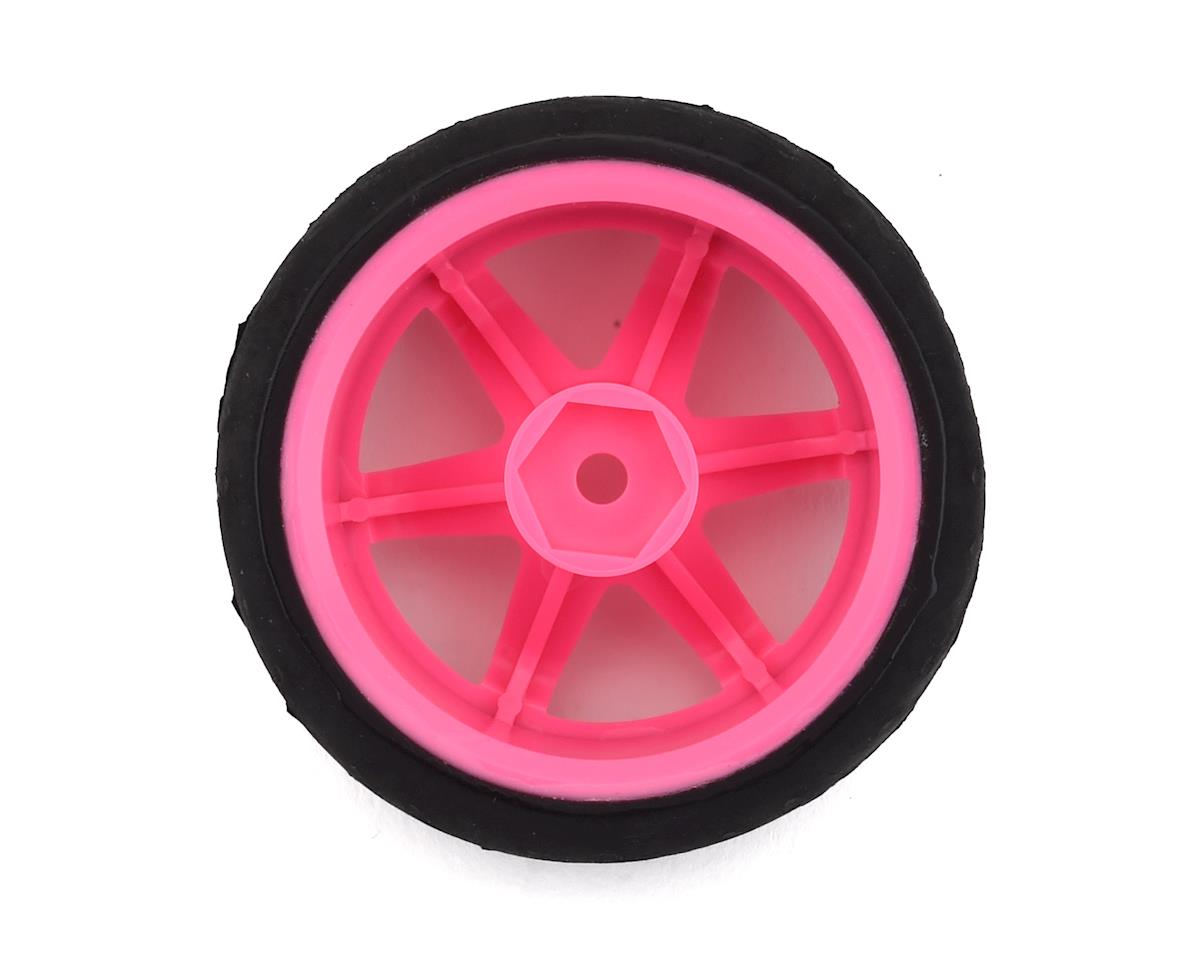 Firebrand RC Panther RT9 Pre-Mounted On-Road Tires (4) (Pink)