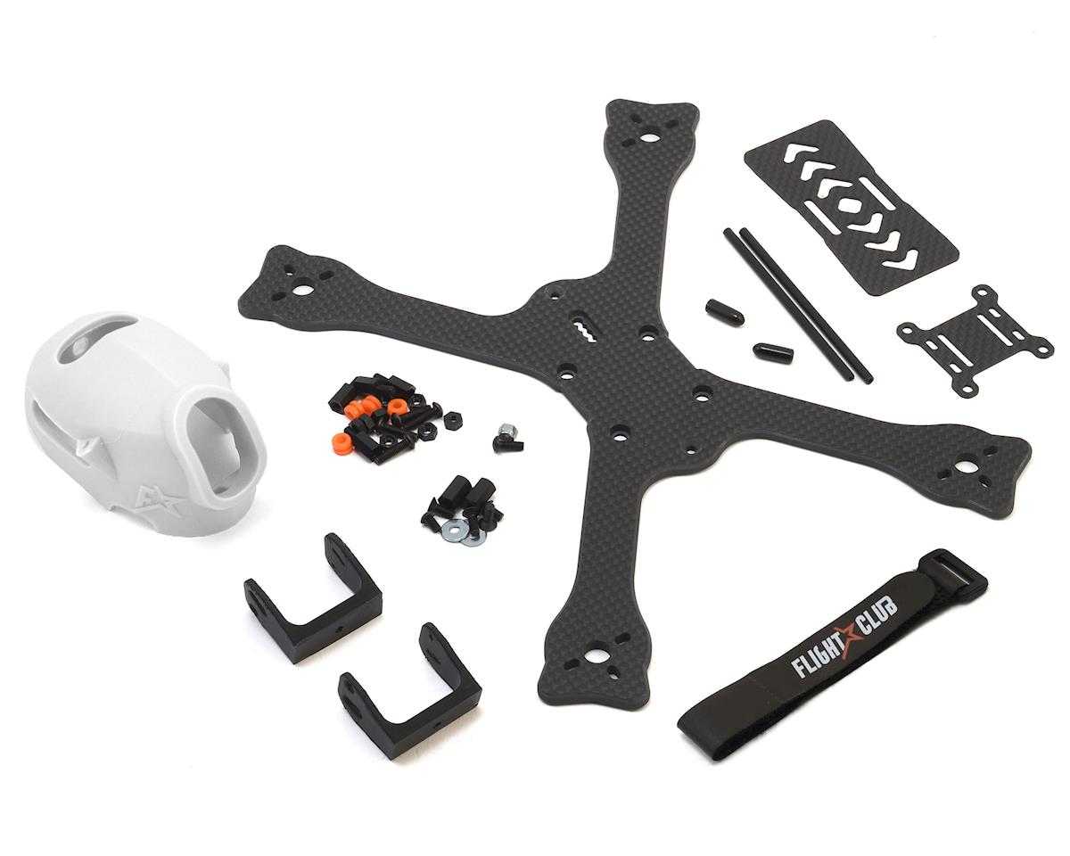 "Flight Club Tokio SX ""Stretch"" Drone Frame Kit (Clear)"