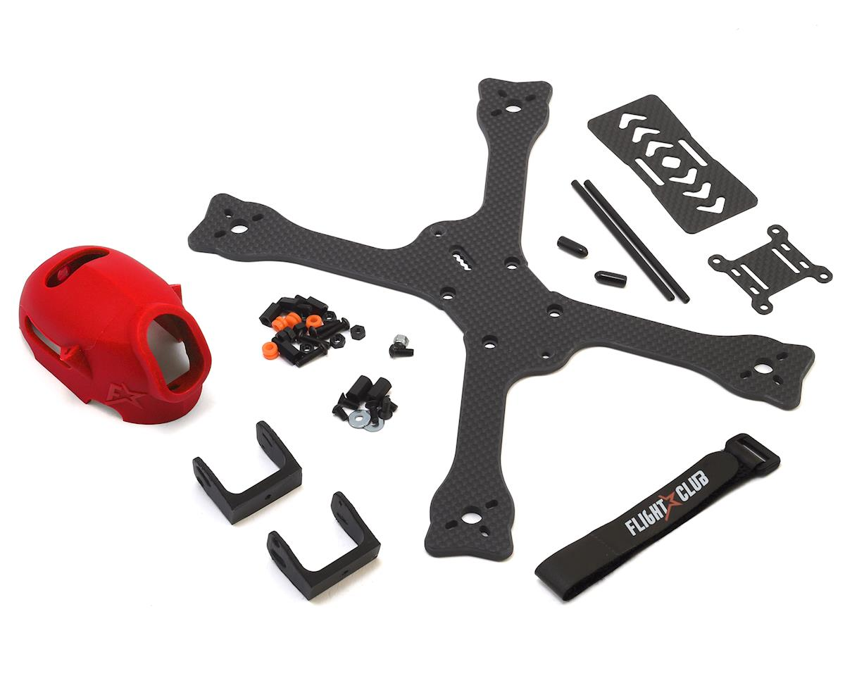 "Flight Club Tokio SX ""Stretch"" Drone Frame Kit (Red)"