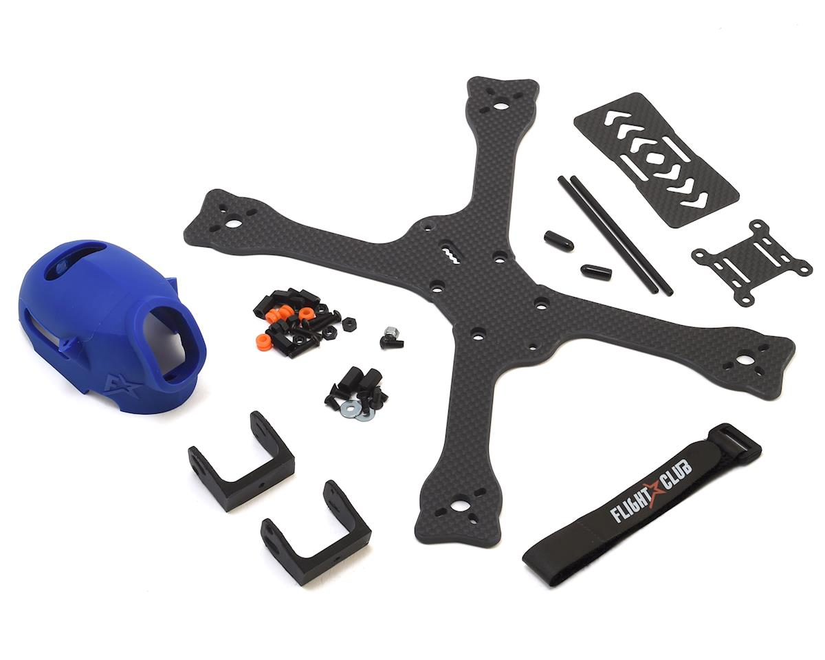 "Flight Club Tokio SX ""Stretch"" Drone Frame Kit (Blue)"