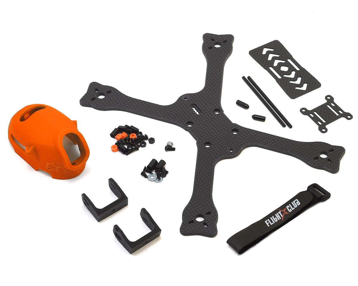 "Flight Club Tokio SX ""Stretch"" Drone Frame Kit (Orange)"
